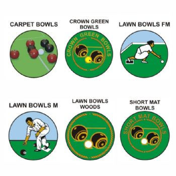 Bowls pk of 5 25mm centres-